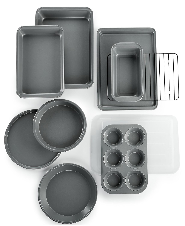 Martha Stewart Essentials 10 Piece Bakeware Set + 7 Piece Kitchen Utensil Set + $3 Charity Savings Pass