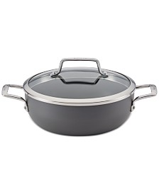 Anolon Authority Hard-Anodized 3.5-Qt. Round Casserole with Lid