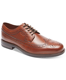 Rockport Men's Essential Details II Wing Tip Waterproof Oxford