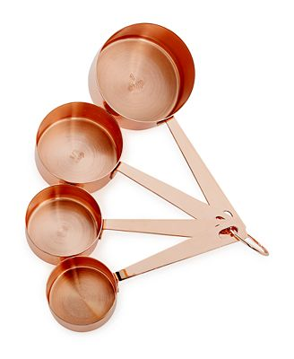 Martha Stewart Collection Copper-Plated Measuring Cups, Created for Macy's