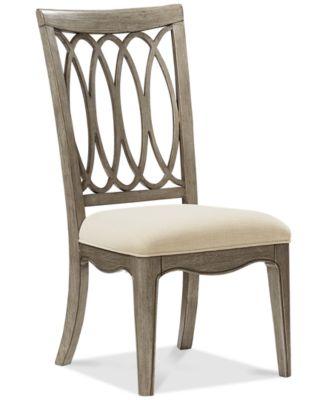 Kelly Ripa Home Hayley Side Chair - Furniture - Macy\'s