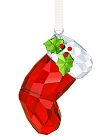 Swarovski Santa's Stocking Ornament