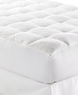 "CLOSEOUT! Lux-Loft™ California King Mattress Pad with 17"" Stretch Skirt, Certified Asthma and Allergy Friendly™"