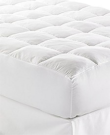"CLOSEOUT! Lux-Loft™ King Mattress Pad with 17"" Stretch Skirt, Certified Asthma and Allergy Friendly™"