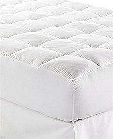 "CLOSEOUT! Lauren Ralph Lauren Lux-Loft™ Full Mattress Pad with 17"" Stretch Skirt, Certified Asthma and Allergy Friendly™"