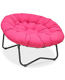 Horris Folding XL Papasan Chair, Quick Ship