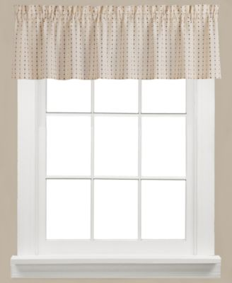 "Hopscotch Check 58"" x 13"" Valance"