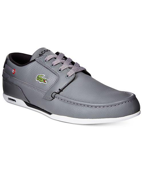 c6e1a6d2c Lacoste Men s Dreyfus Sneakers   Reviews - All Men s Shoes - Men ...