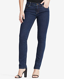 Lauren Ralph Lauren Super Stretch Classic Straight Jeans