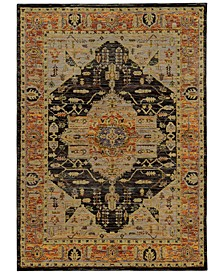 "Journey Heriz Gold 7'10"" x 10'10"" Area Rug"