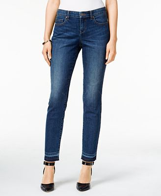 Style & Co. Petite Curvy-Fit Copper Wash Skinny Jeans, Created for Macy's
