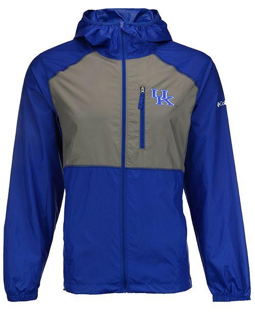 Columbia Men's Kentucky Wildcats Flash Forward Windbreaker Jacket