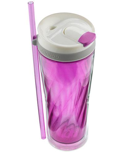 Contigo 24-Oz. Radiant Orchid Flex Water Bottle