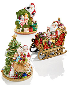 Fitz and Floyd Collectible Figurines, Holiday Musicals Collection