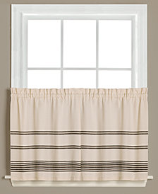 "Saturday Knight Sundance Pair of 28.5"" x 36"" Tier Curtains"
