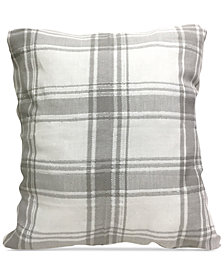 "CLOSEOUT! Homewear Taylor 20"" Square Decorative Pillow, Created for Macy's"