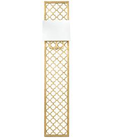 Regina Andrew Design Gold-Leaf Quatrefoil Panel Sconce