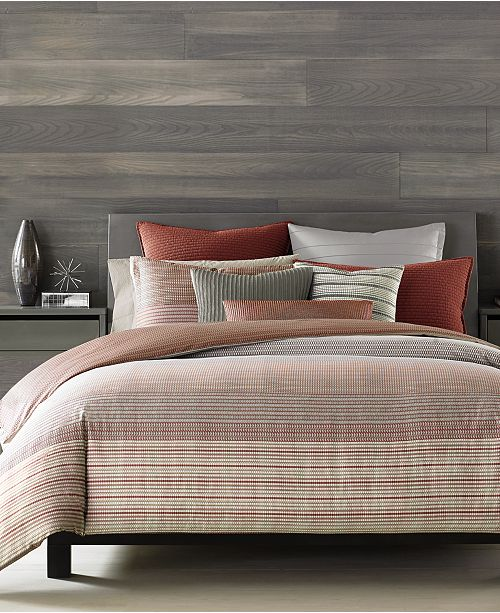 Hotel Collection Modern Geo Stripe Bedding Collection