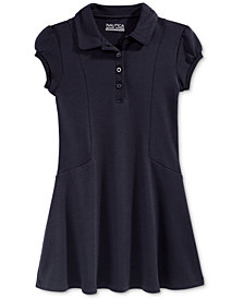 Nautica School Uniform Polo Shirtdress, Big Girls