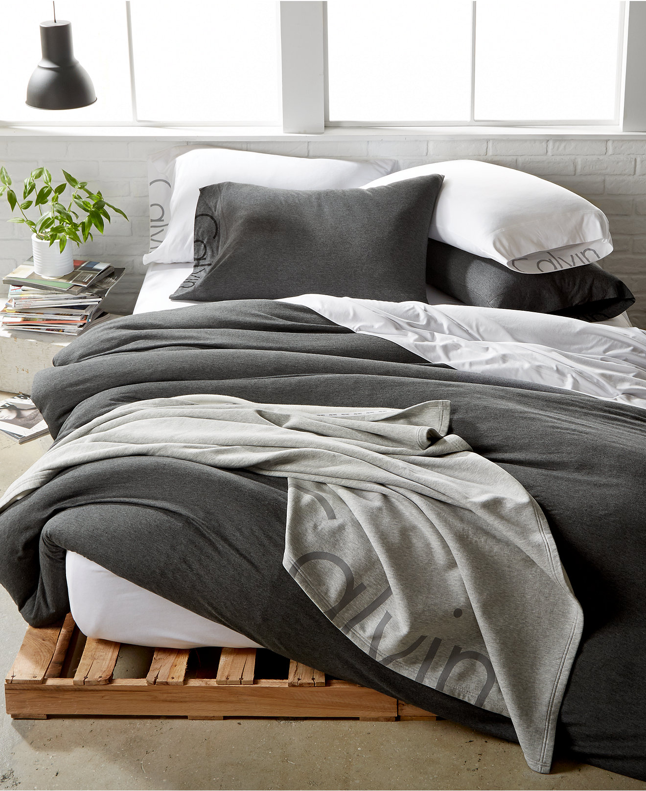 bedding collections  macy's - calvin klein modern cotton body bedding collection