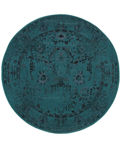 CLOSEOUT! Oriental Weavers Revamp REV7550 7'8'' Round Rug