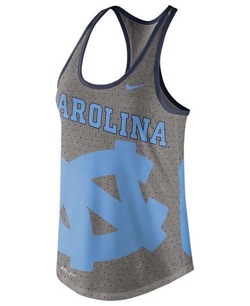 Nike Women's North Carolina Tar Heels Dri-Blend Gear Up Tank