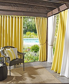 Rutherford Solid Woven Indoor/Outdoor UV Protectant Curtain Panels