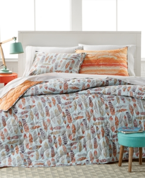 Image of Zensa Reversible 3-Pc. Full/Queen Quilt Set