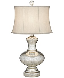 Pacific Coast Mercury Glass Whimsical Table Lamp