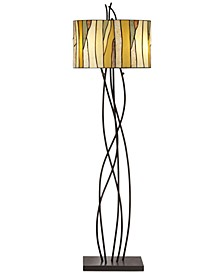 Oak Vine Floor Lamp