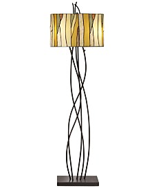 Pacific Coast Oak Vine Floor Lamp
