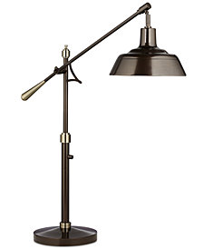 Pacific Coast Adjustable Swing Arm Table Lamp