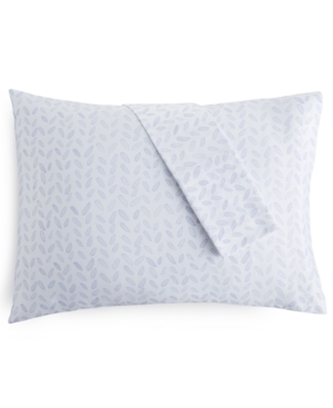 bluebell gray 230 Thread Count Printed King Pillowcases Set of 2 Bedding