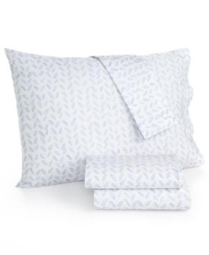 bluebellgray 230 Thread Count Printed Twin Sheet Set Bedding