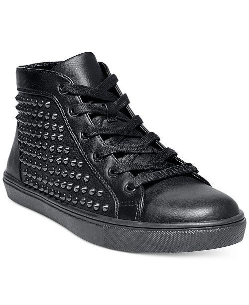 eb15e23e3d8 Steve Madden Women's Levels Studded High-Top Sneakers & Reviews ...