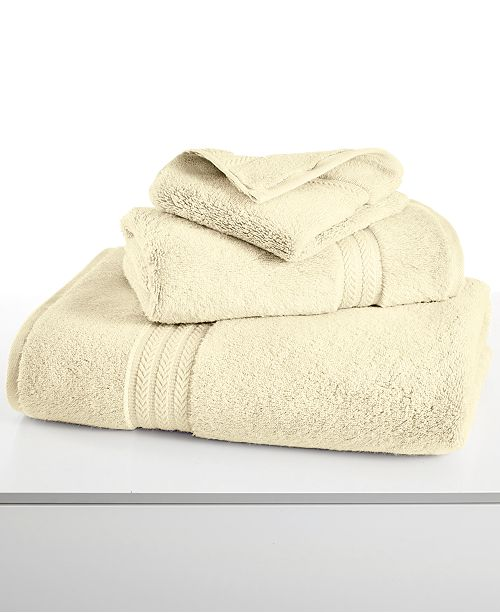 Hotel Collection CLOSEOUT! Finest Elegance Bath Towel Collection, Luxury Turkish Cotton, Created for Macy's