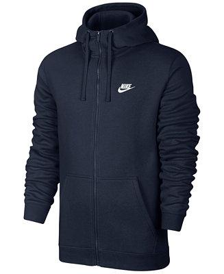 Nike Men's Fleece Zip Hoodie - Hoodies & Sweatshirts
