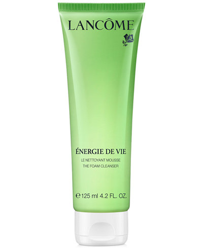 Lancôme Énergie de Vie Smoothing & Purifying Foam Cleanser, 4.2 oz