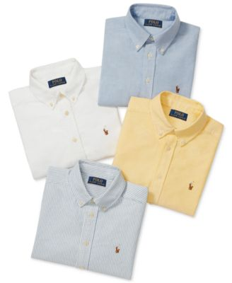 ea99782bc Polo Ralph Lauren Big Boys Blake Oxford Shirt   Reviews - Shirts ...