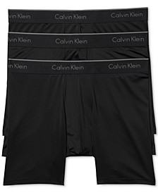 Men's Microfiber Stretch Boxer Brief 3-Pack