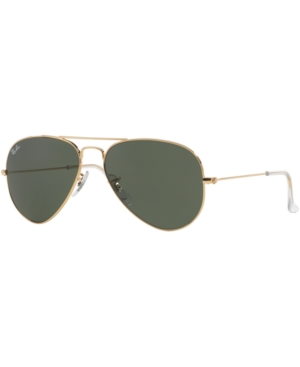 Ray-Ban Aviator Sunglasses, RB3025 55