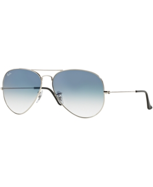Ray-Ban Sunglasses, RB3025 55 Aviator Gradient