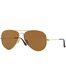 Ray-Ban Sunglasses, RB3025 58 AVIATOR