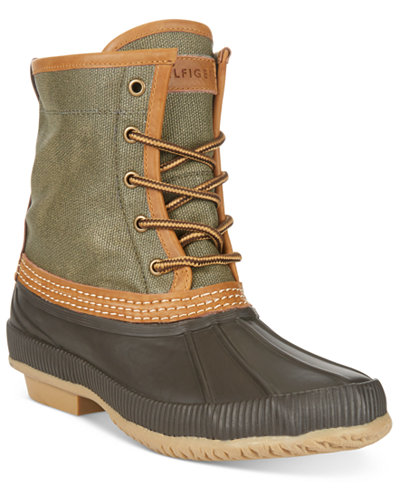 Tommy Hilfiger Men's Collins Waterproof Duck Boots, Only at