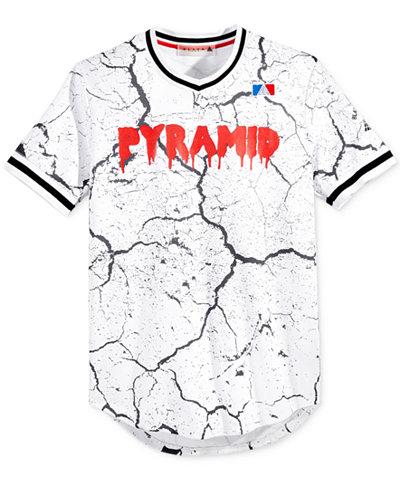 Black Pyramid Men's Graphic-Print Logo Jersey