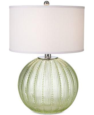 Pacific Coast Sea Glass Sea Urchin Table Lamp - Lighting & Lamps ...