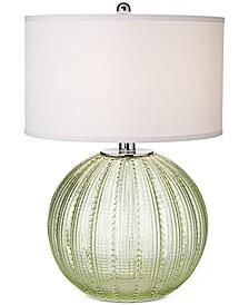 Sea Glass Sea Urchin Table Lamp
