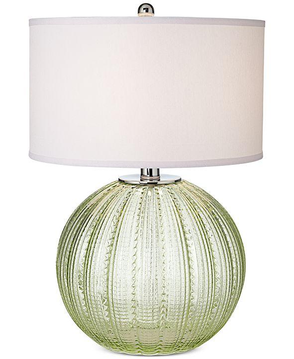 Pacific Coast Sea Glass Sea Urchin Table Lamp