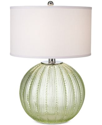 Pacific Coast Sea Glass Sea Urchin Table Lamp