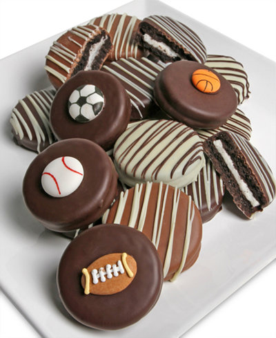 Chocolate Covered Company 10-Pc. Sports Belgian Chocolate Covered OREO® Cookies